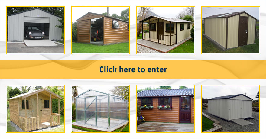 Garden Sheds Galway steel garages, timber effect pvc garages | steeltech garages galway